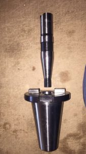 nástavný trn a redukce SK50-SK30